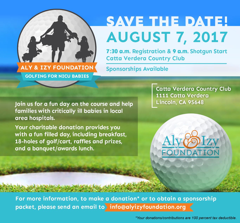 Aly & Izy Foundation Golf Invite